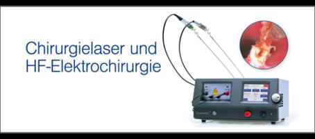 Chirurgielaser und HF-Elektrochirurgie