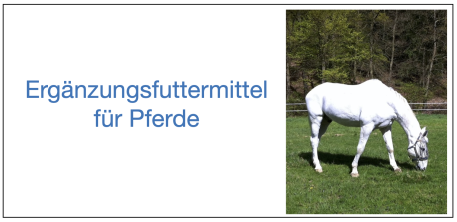 Equine Supplement Service